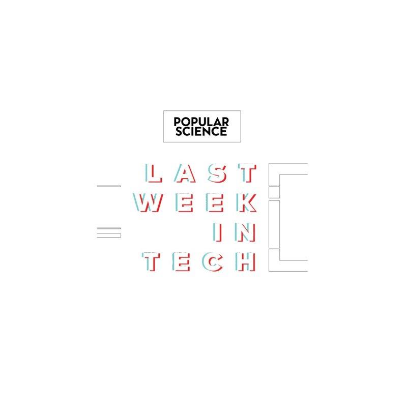 """Last Week In Tech"" Logo Mug Accessories Mug by Popular Science Shop"