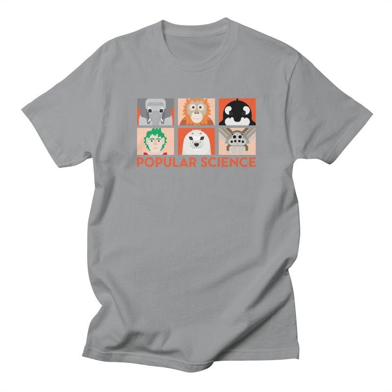 Kids Today! Popular Science Magazine Artwork Women's Regular Unisex T-Shirt by Popular Science Shop