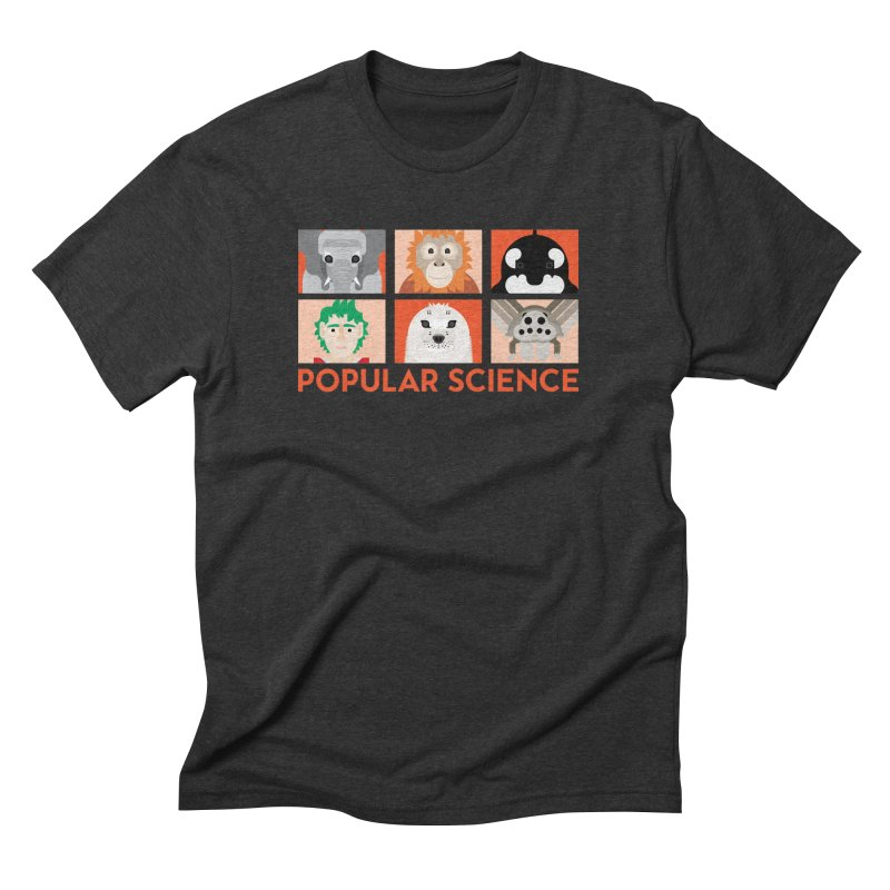 Kids Today! Popular Science Magazine Artwork in Men's Triblend T-Shirt Heather Onyx by Popular Science Shop