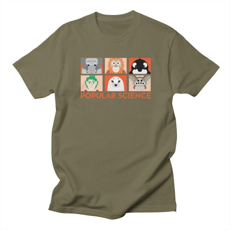 Kids Today! Popular Science Magazine Artwork Men's Regular T-Shirt by Popular Science Shop