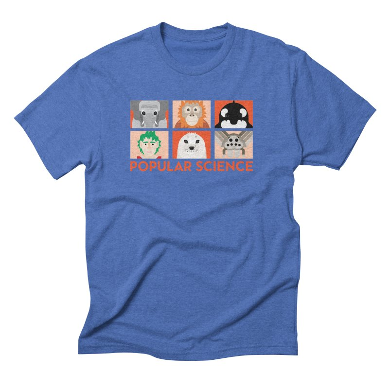 Kids Today! Popular Science Magazine Artwork Men's Triblend T-Shirt by Popular Science Shop