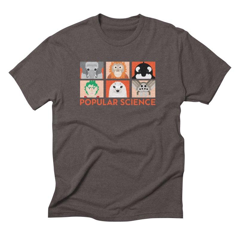 Kids Today! Popular Science Magazine Artwork Men's Triblend T-Shirt by Popular Science Shop
