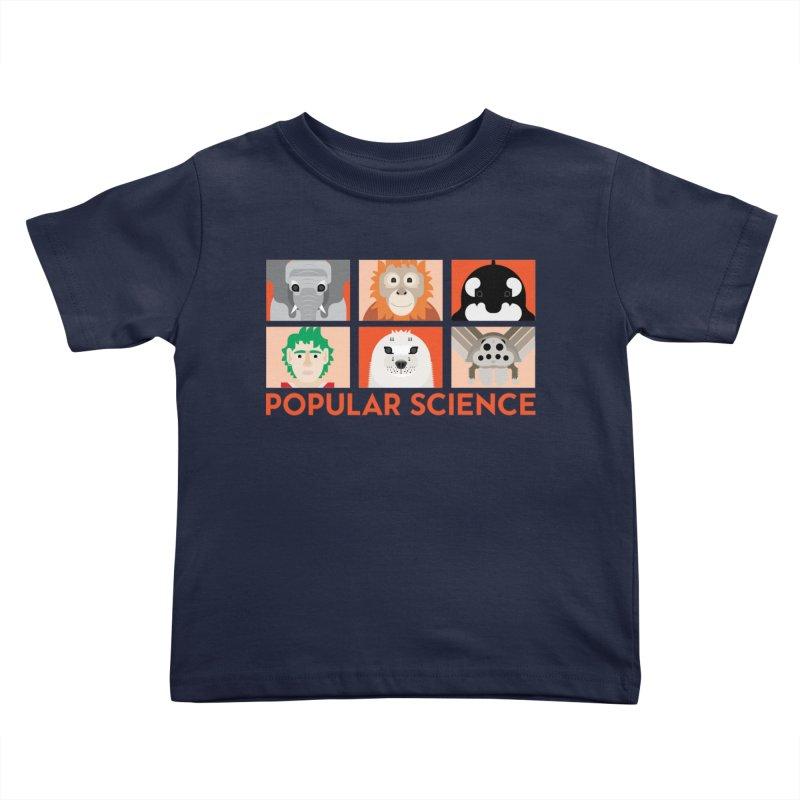 Kids Today! Popular Science Magazine Artwork Kids Toddler T-Shirt by Popular Science Shop