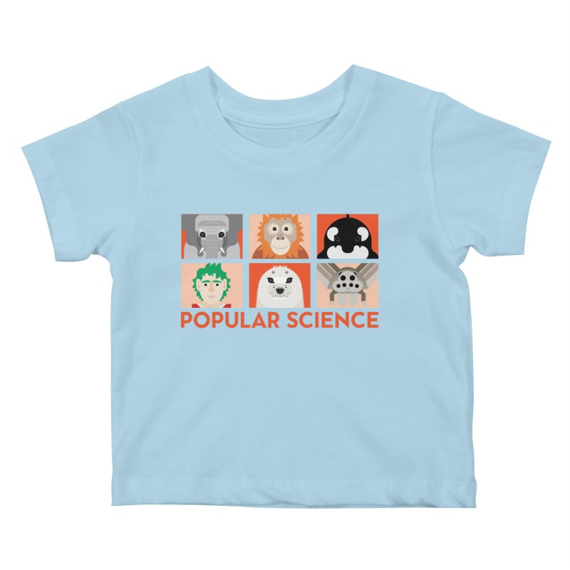 Kids Today! Popular Science Magazine Artwork Kids Baby T-Shirt by Popular Science Shop