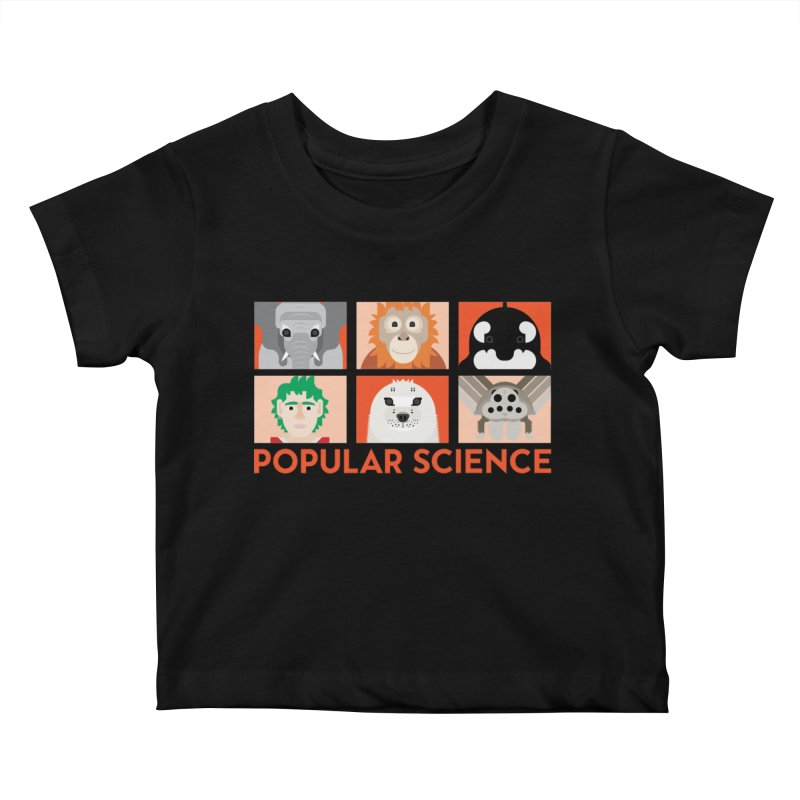 Kids Today! Popular Science Magazine Artwork Kids Baby T-Shirt by Popular Science Shop