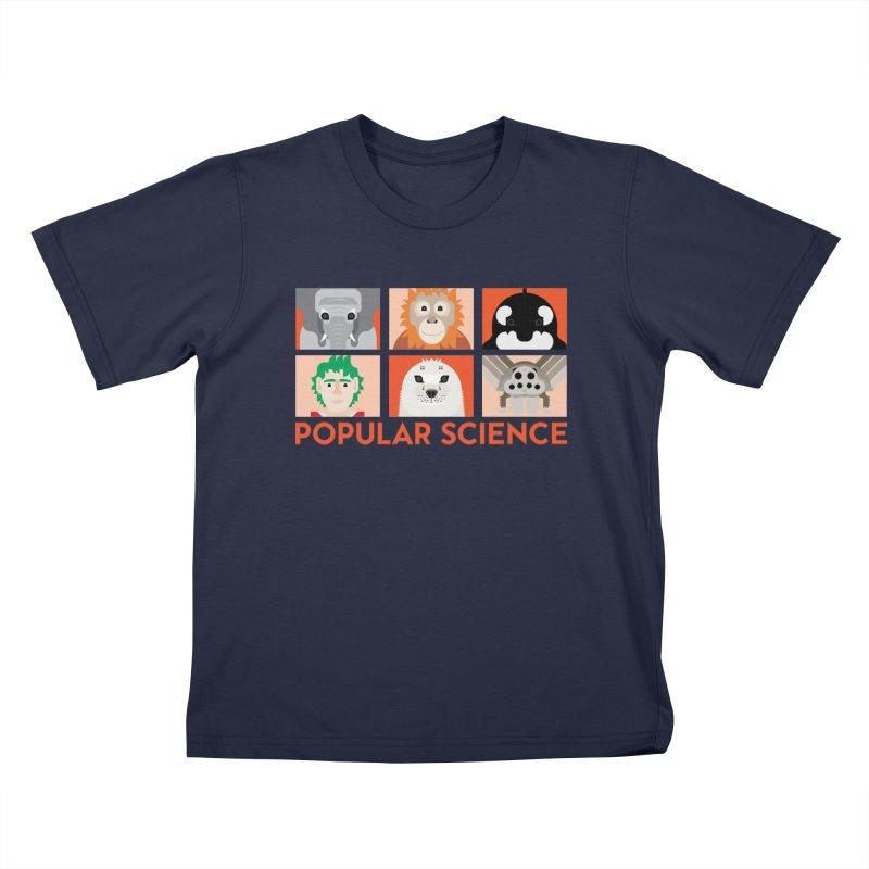 Kids Today! Popular Science Magazine Artwork Kids T-Shirt by Popular Science Shop
