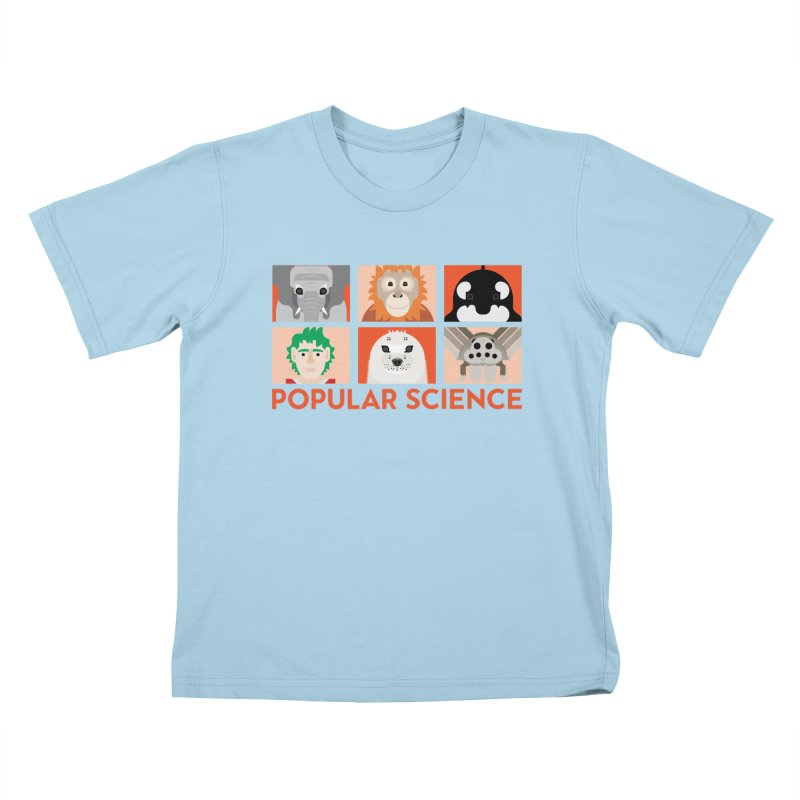Kids Today! Popular Science Magazine Artwork Kids T-Shirt by Popular Science Shop