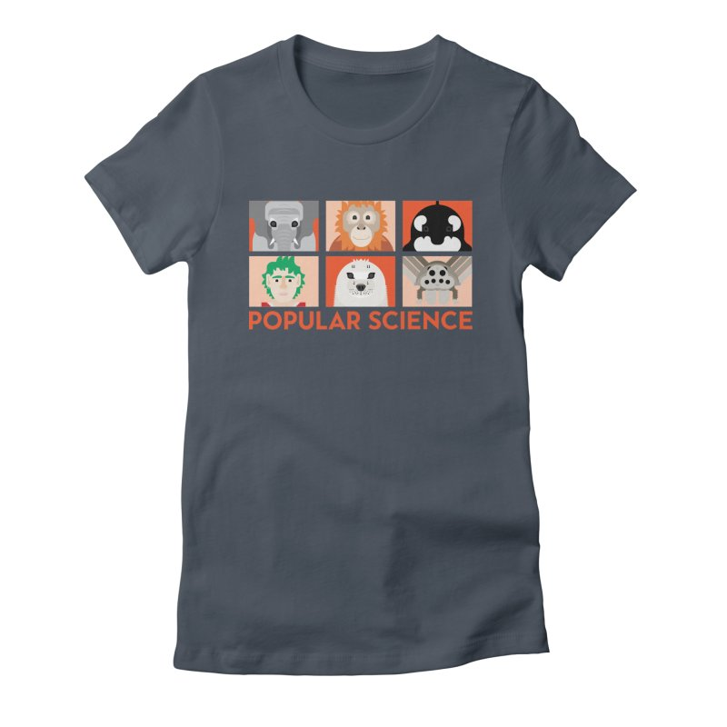 Kids Today! Popular Science Magazine Artwork Women's T-Shirt by Popular Science Shop