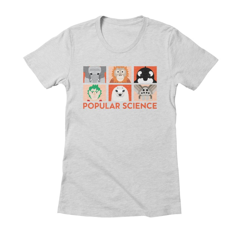 Kids Today! Popular Science Magazine Artwork Women's Fitted T-Shirt by Popular Science Shop