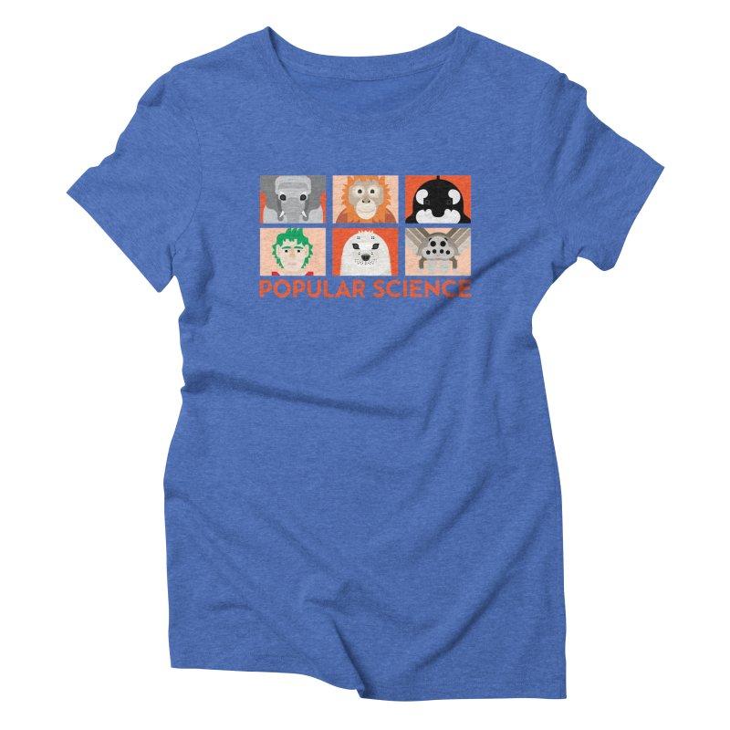 Kids Today! Popular Science Magazine Artwork Women's Triblend T-Shirt by Popular Science Shop