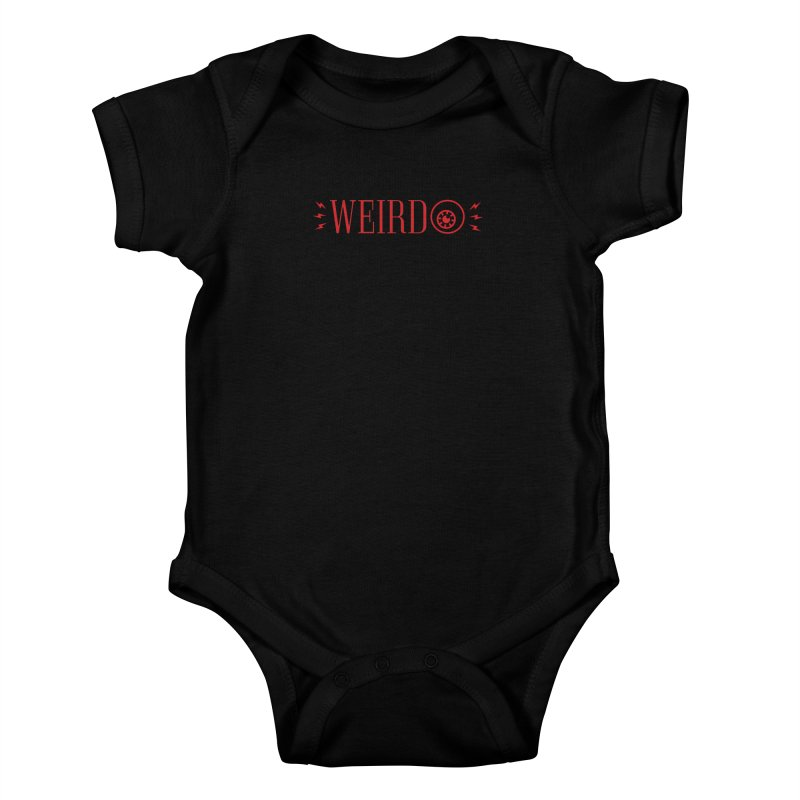 """Weirdo! """"The Weirdest Thing I Learned This Week"""" Tee Kids Baby Bodysuit by Popular Science Shop"""