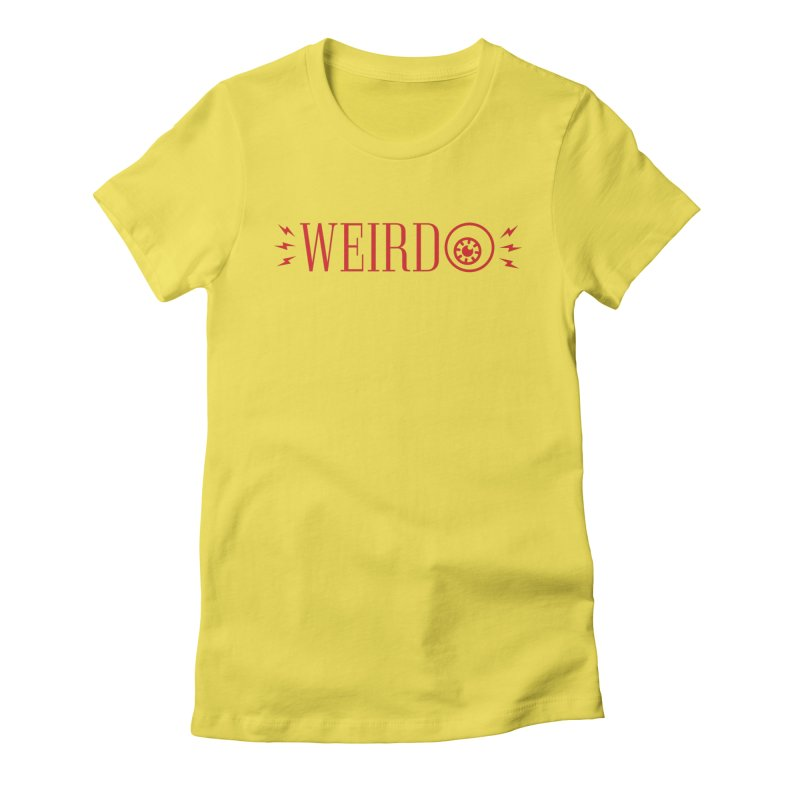 """Weirdo! """"The Weirdest Thing I Learned This Week"""" Tee Women's Fitted T-Shirt by Popular Science Shop"""