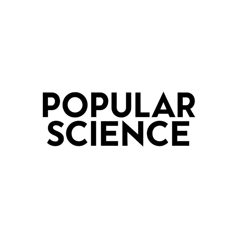 Popular Science Logo Sticker - Black by Popular Science Shop