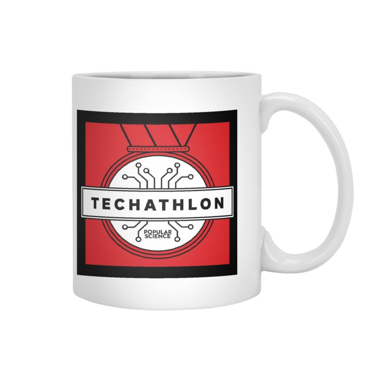 """Techathlon"" Logo Mug Accessories Mug by Popular Science Shop"