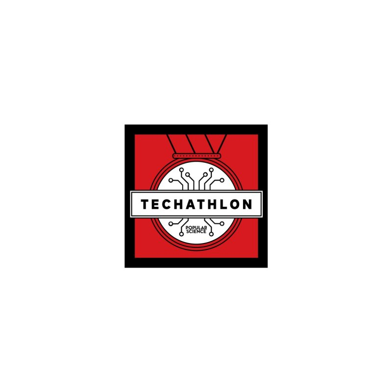 """Techathlon"" Logo Mug by Popular Science Shop"