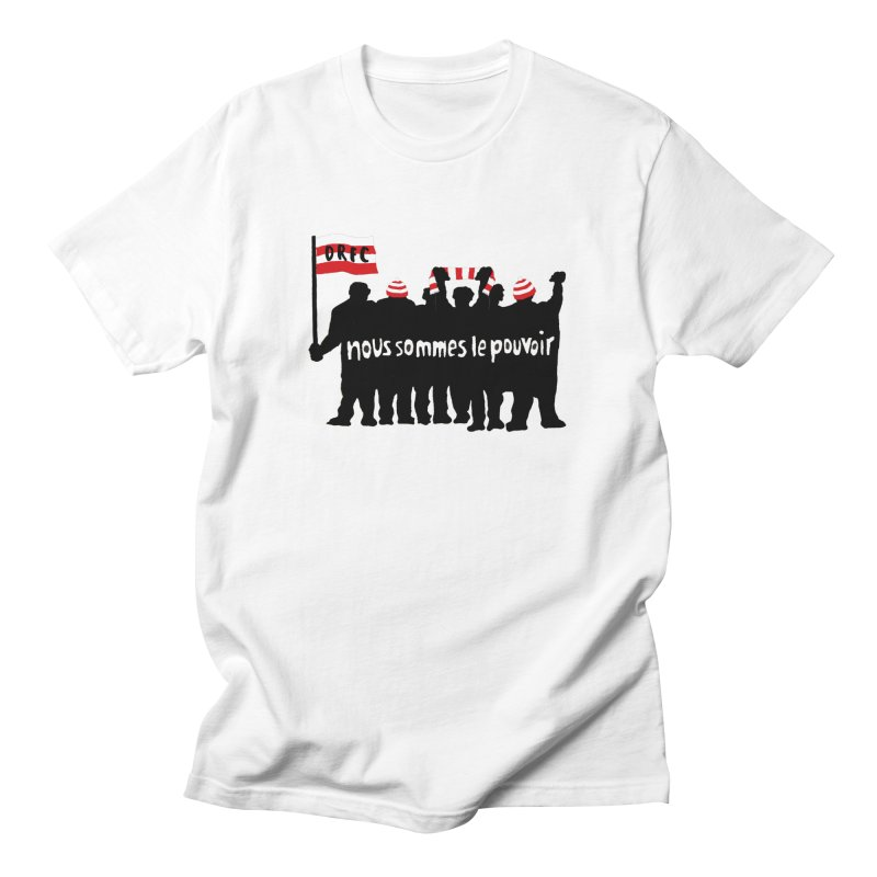 We are the power Men's T-Shirt by popular STAND fanzine shop
