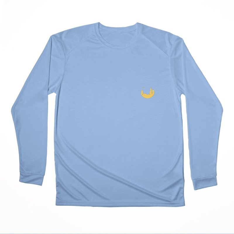 Round Yellow Small Women's Longsleeve T-Shirt by The Porch