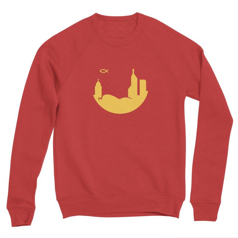 Round Yellow Women's Sweatshirt by The Porch
