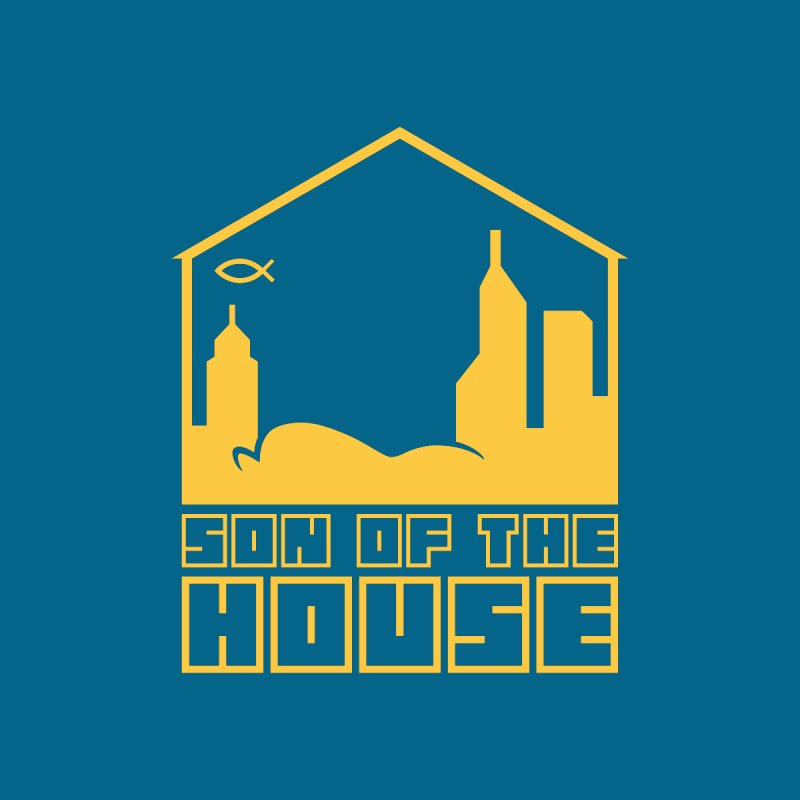 Son of the House Yellow Kids Longsleeve T-Shirt by The Porch