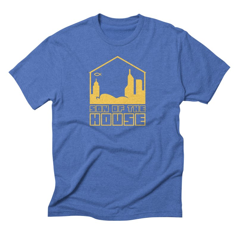 Son of the House Yellow Men's T-Shirt by The Porch
