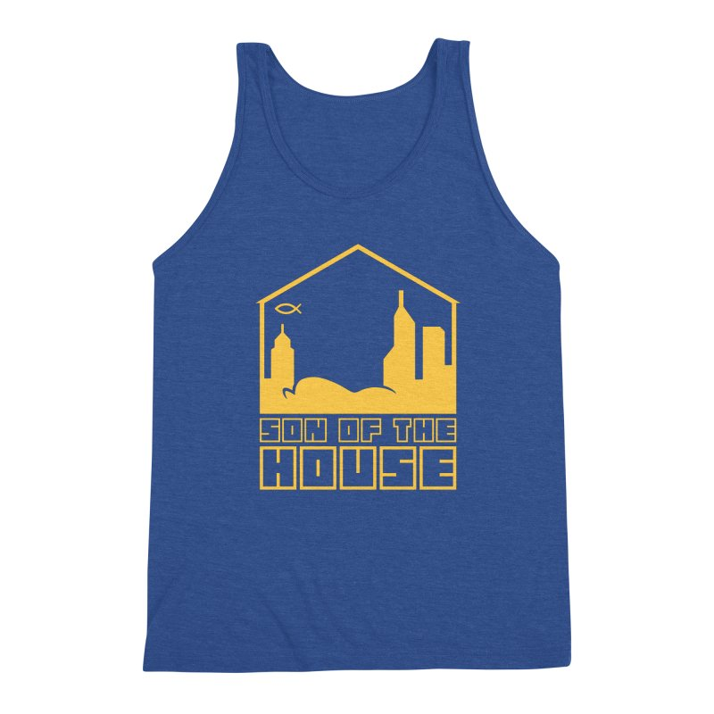 Son of the House Yellow Men's Tank by The Porch