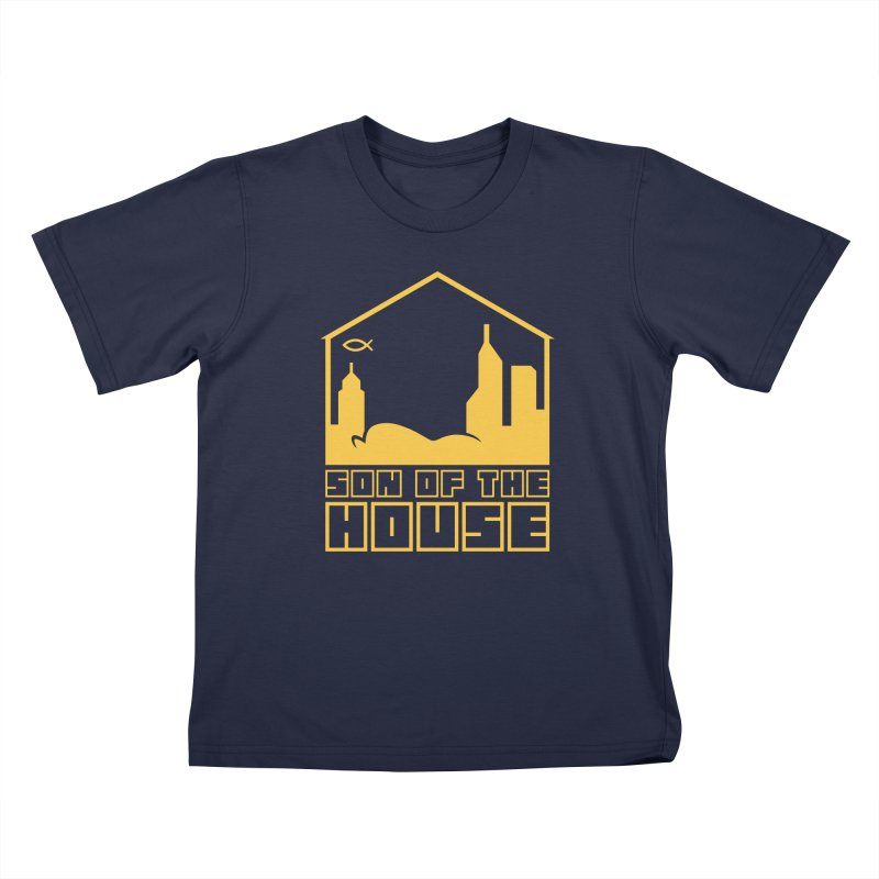 Son of the House Yellow Kids T-Shirt by The Porch