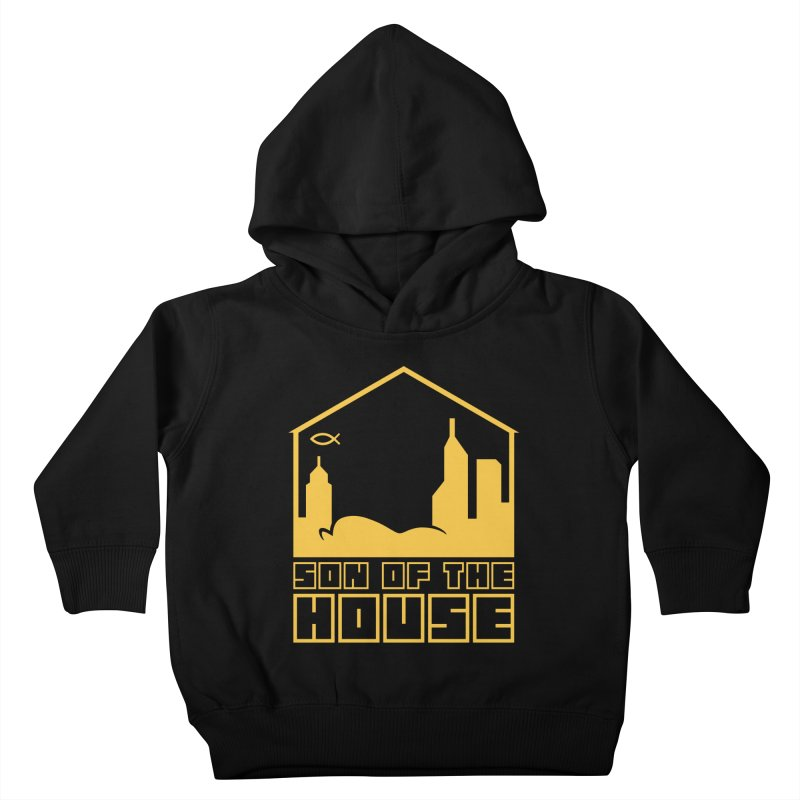 Son of the House Yellow Kids Toddler Pullover Hoody by The Porch
