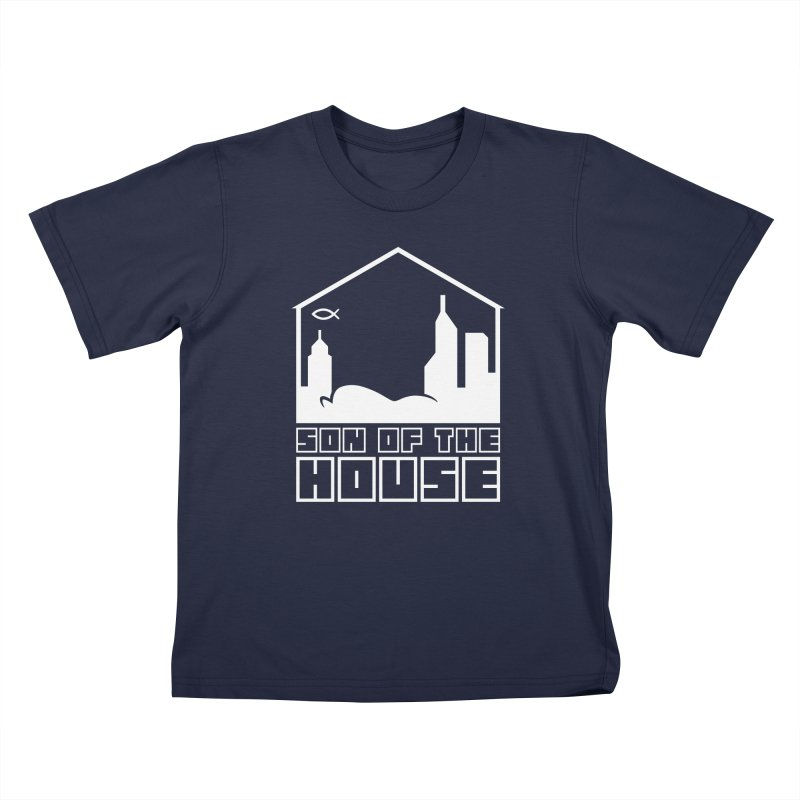 Son of the House White Kids T-Shirt by The Porch