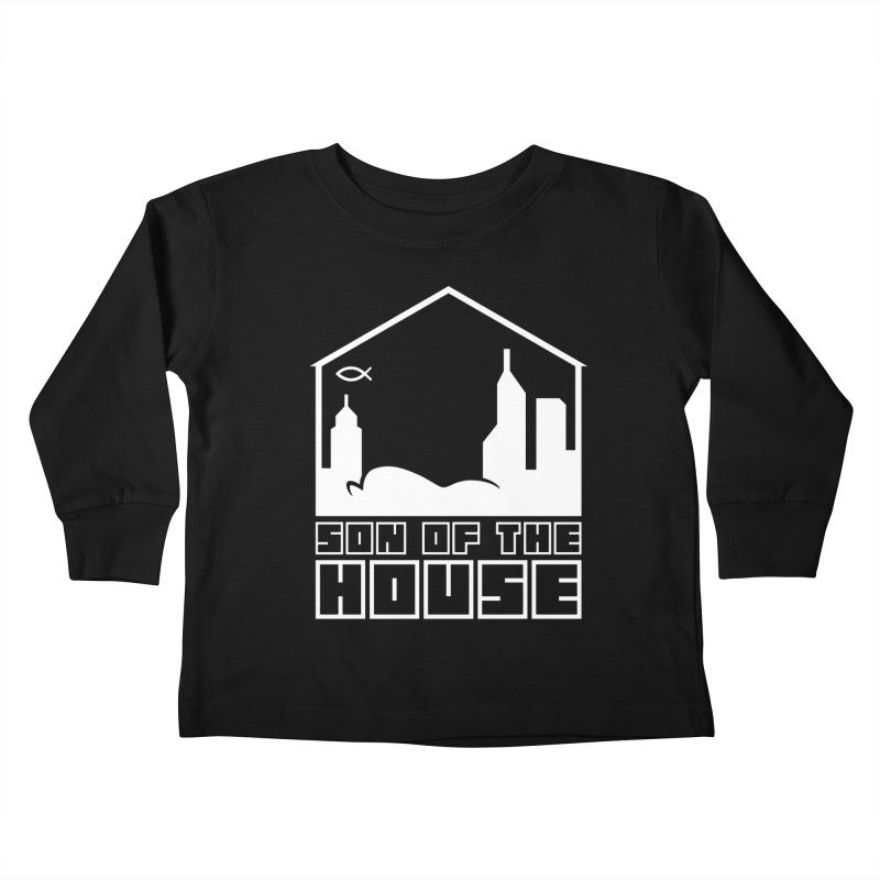 Son of the House White Kids Toddler Longsleeve T-Shirt by The Porch