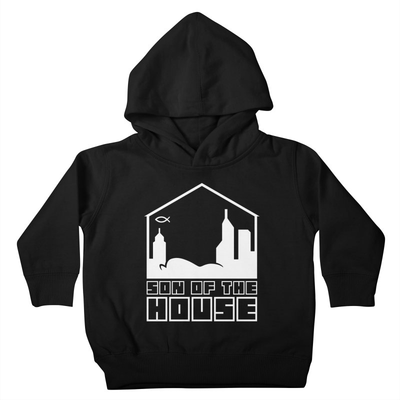 Son of the House White Kids Toddler Pullover Hoody by The Porch