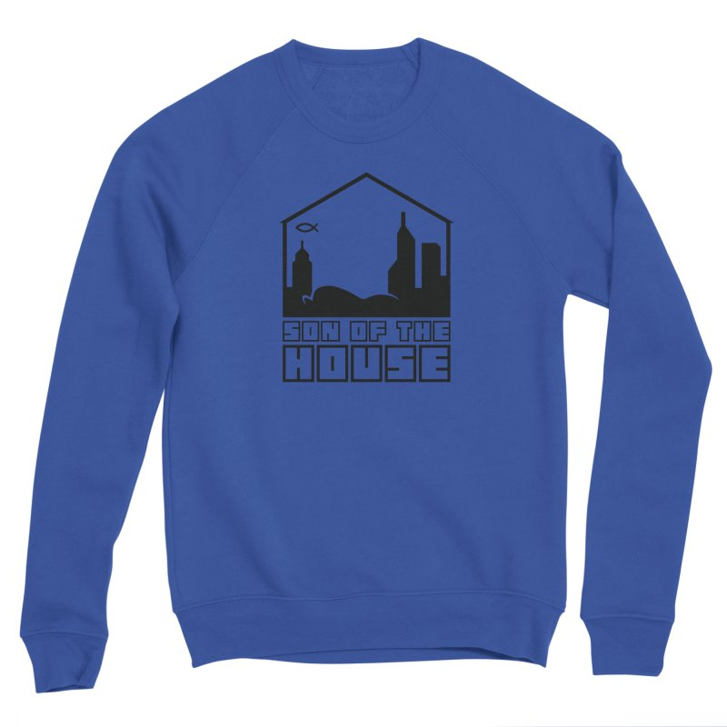 Son of the House Black Men's Sweatshirt by The Porch