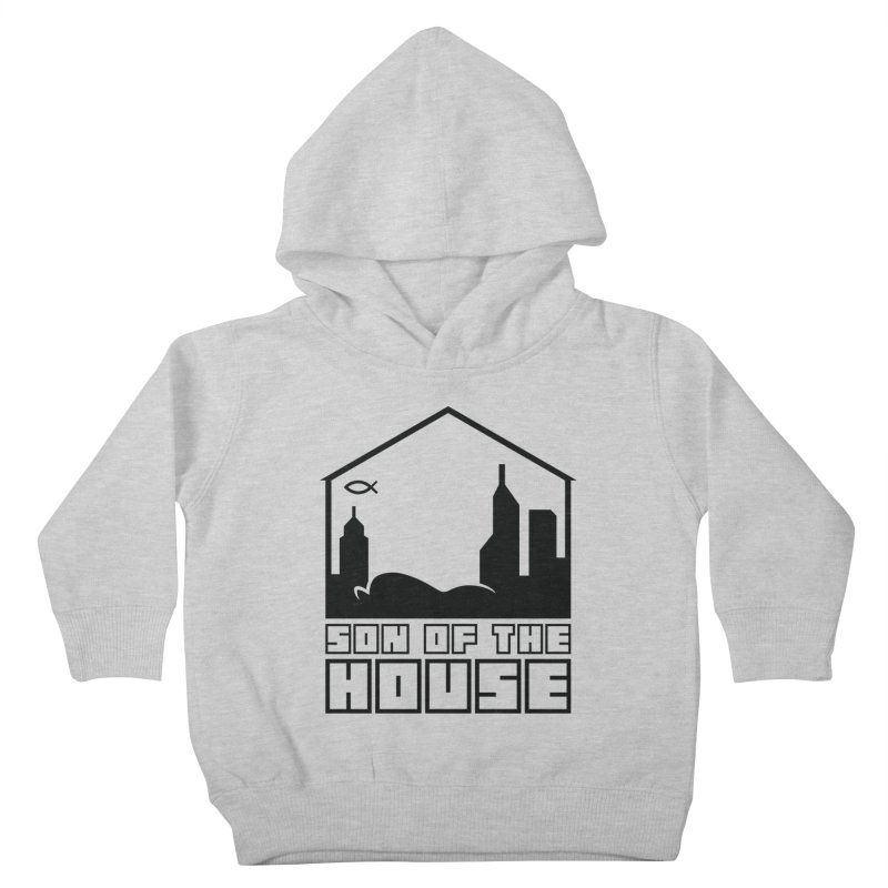 Son of the House Black Kids Toddler Pullover Hoody by The Porch
