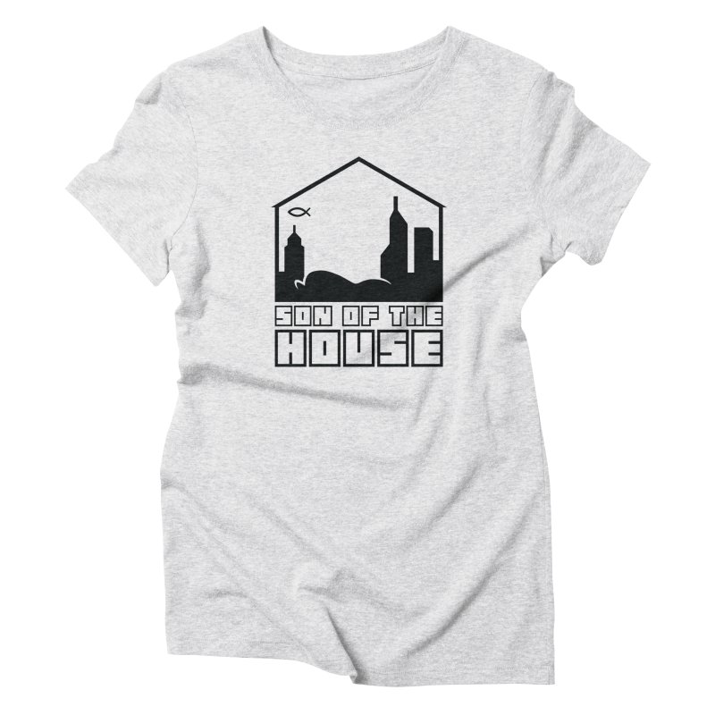 Son of the House Black Women's T-Shirt by The Porch