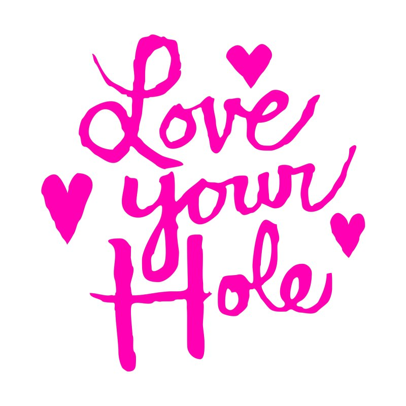 Love Your Hole Accessories Bag by PORK-PIE Brand