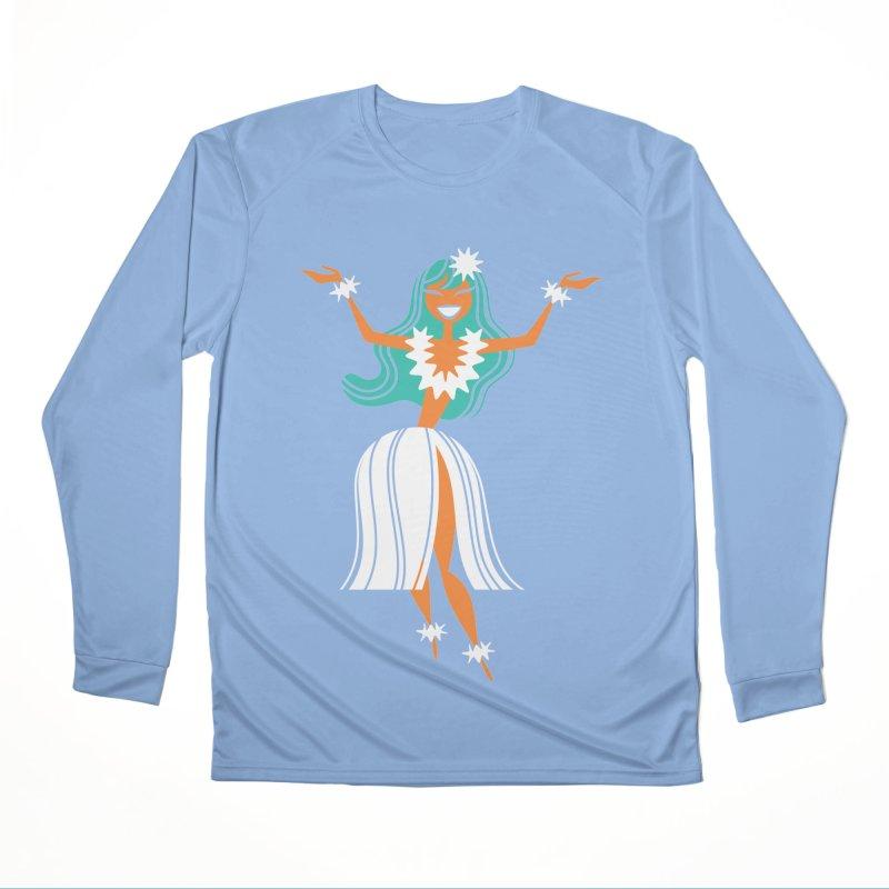 Hula Girl Women's Longsleeve T-Shirt by PORK-PIE Brand