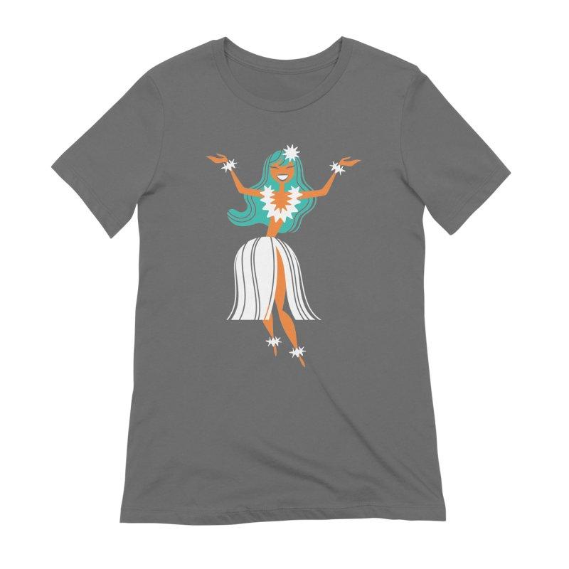 Hula Girl Women's T-Shirt by PORK-PIE Brand
