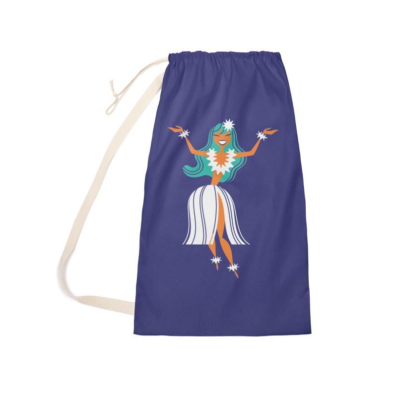 Hula Girl Accessories Bag by PORK-PIE Brand