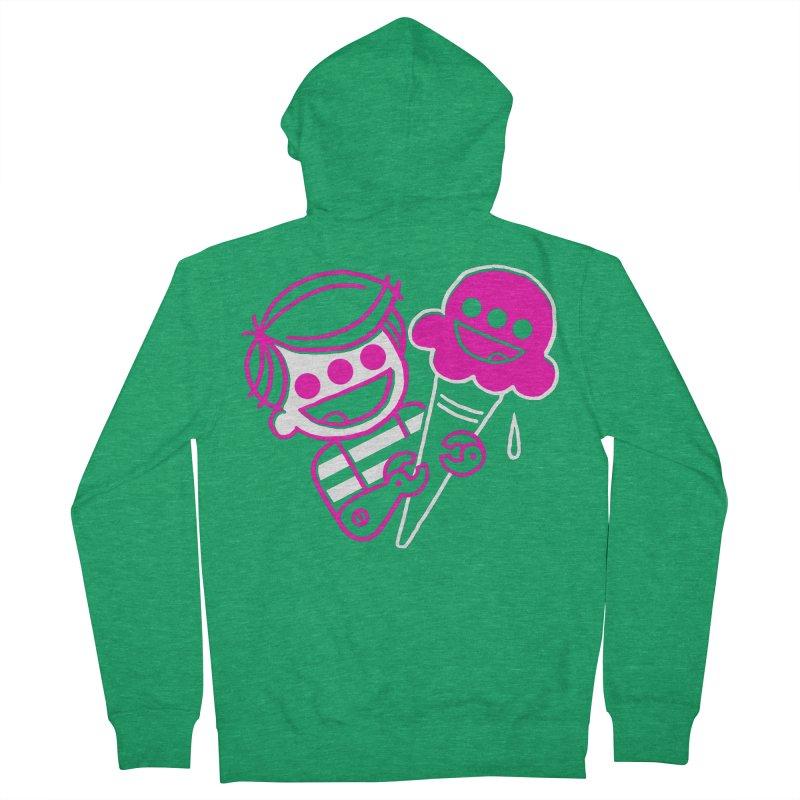 Ice Cream Mutant 2 Women's Zip-Up Hoody by PORK-PIE Brand