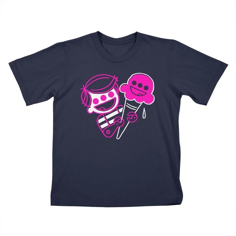 Ice Cream Mutant 2 Kids T-Shirt by PORK-PIE Brand