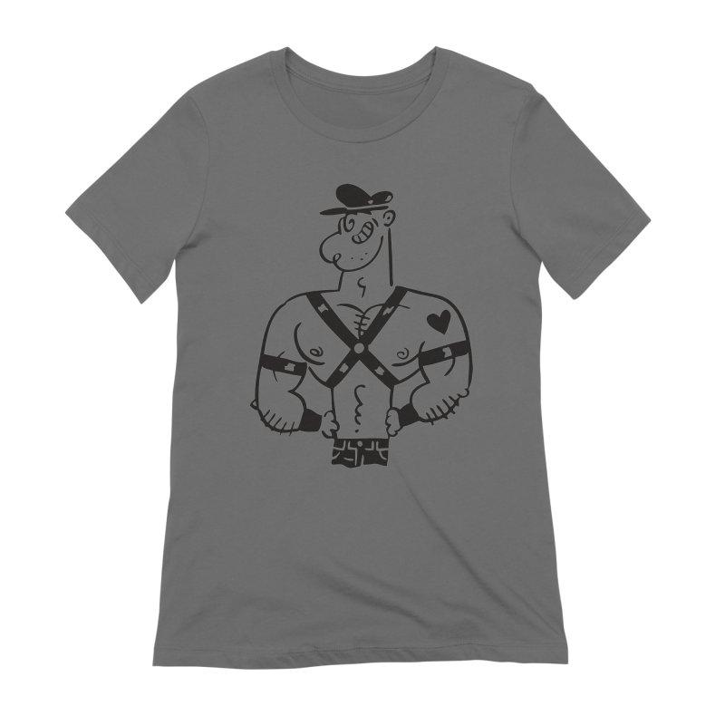 Leather Pop Women's T-Shirt by PORK-PIE Brand