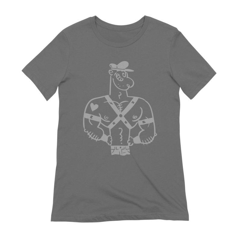 Leather Pop 2 Women's T-Shirt by PORK-PIE Brand