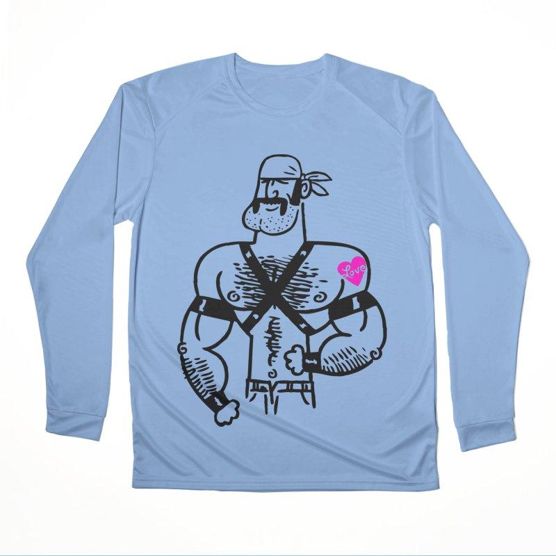 Biker Dude Women's Longsleeve T-Shirt by PORK-PIE Brand