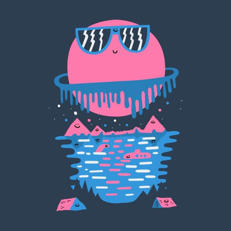 Happy Outdoors Men's T-Shirt by Porky Roebuck Artist Shop