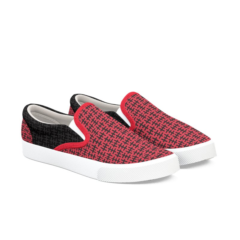 Limited Edition Psychic Cross Slip-On Sneaker in Men's Slip-On Shoes by porridgeshoppe's Artist Shop