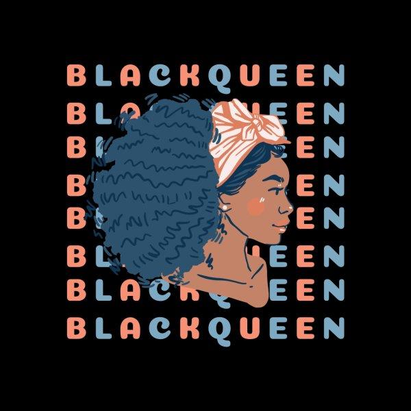 Design for Black Queen: best black women, black goddess energy, beautiful black girl illustration, feminine