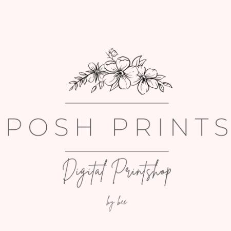 Logo for poshprintsbybee's Artist Shop