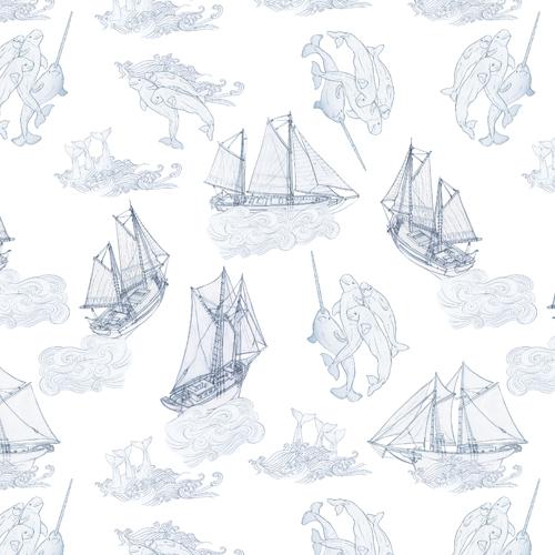 Belugas-Narwhals-And-Ships