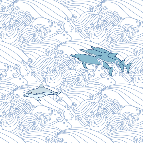 Dolphins-On-Waves