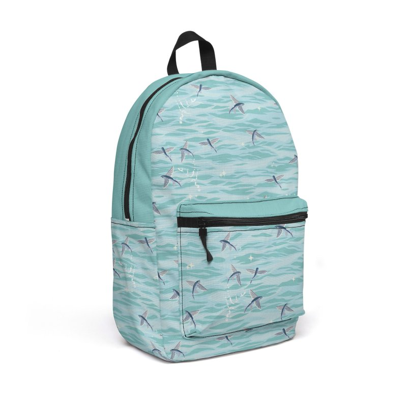 Flying Fish in Backpack by Posh Tide