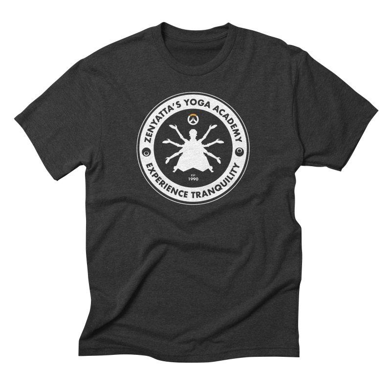 Zenyatta's Yoga Academy Men's Triblend T-shirt by Positivitees